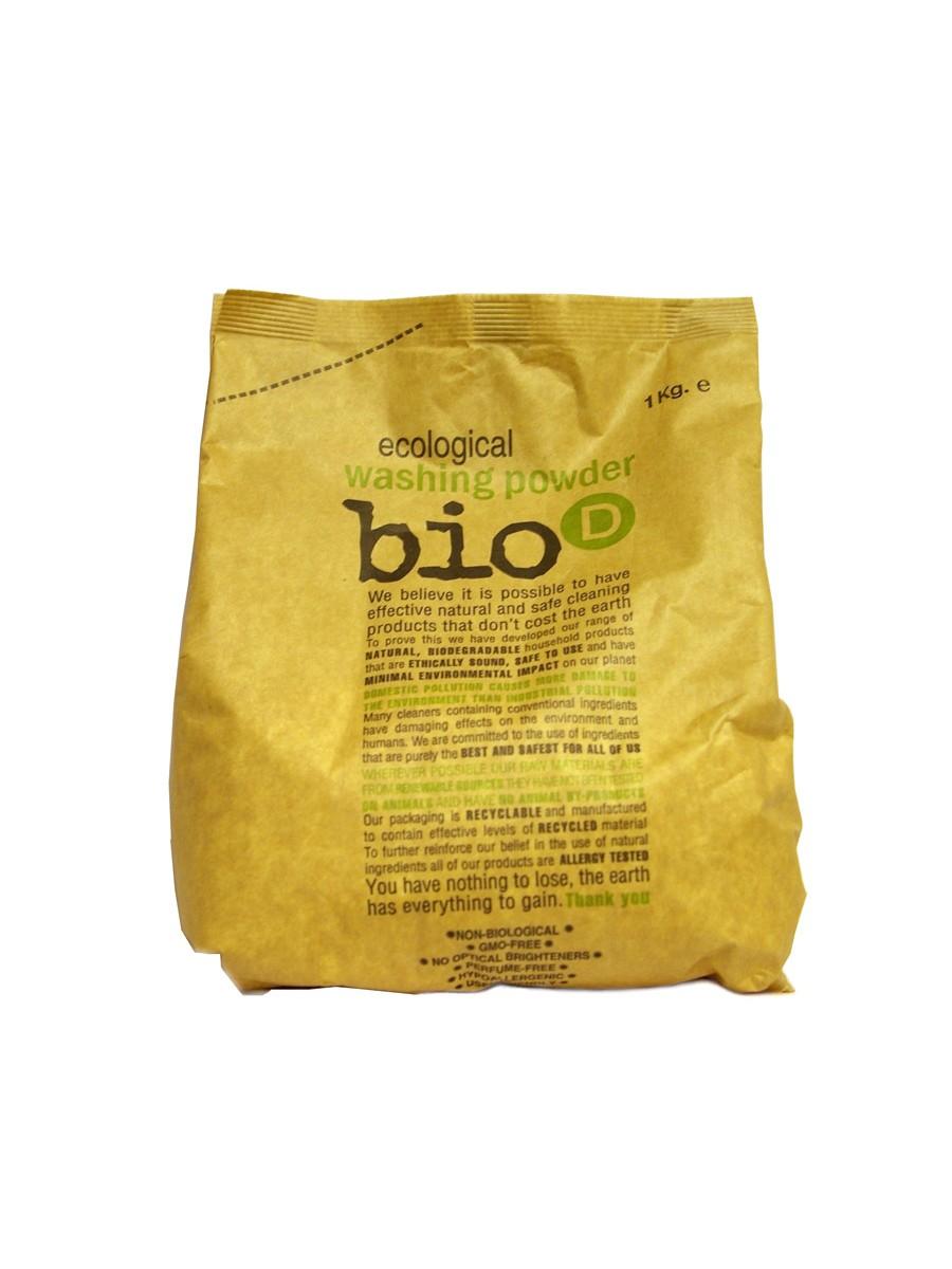 Detergent pudra ecologic pentru rufe